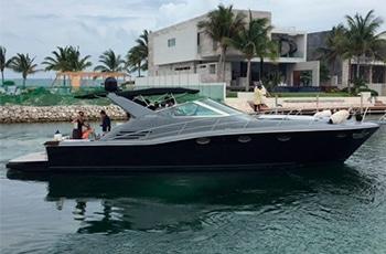 Renta de yates de lujo en cancun, riviera maya, isla mujeres, playa del carmen, puerto morelos, puerto aventuras, cozumel uniesse spartan 48 pies