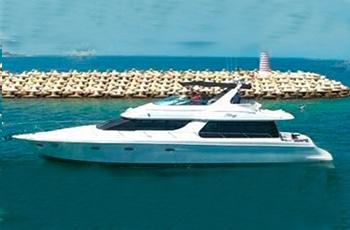 Renta de yates de lujo en cancun, riviera maya, isla mujeres, playa del carmen, puerto morelos, puerto aventuras, cozumel Carver 60 pies