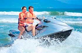 Lanchas en Renta, Renta de Lanchas en Cancún, Navyflex, moto acuatica