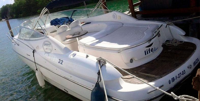 REnta de yates en Cancun Sessa de 32 pies Yates de lujho en renta para tour de snorkel privado a isla mujeres,