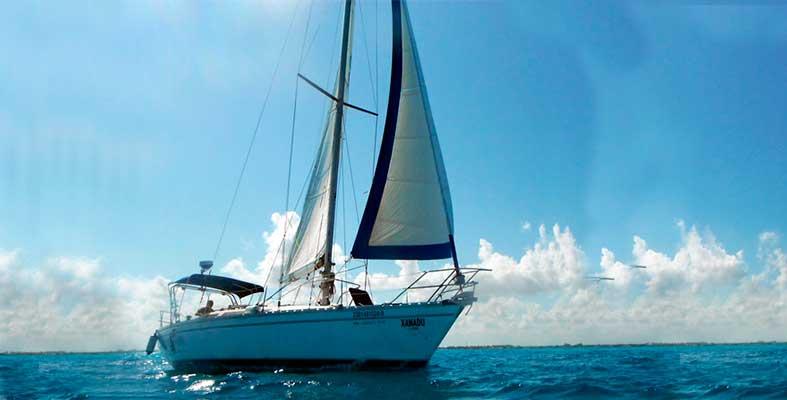 alquiler de veleros Cancun