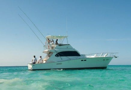 Renta de yates en Cancun, renta de yates de pesca deportiva, pesca, yate, de lujo, charter, privado, sport fishing, isla mujeres, cancun, hatteras 46