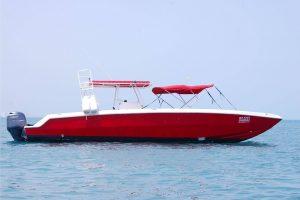 Renta de lanchas para snorkel de lujo en Cancun 34 pies