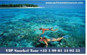 El mejor tour de snorkel en catamaran a isla mujeres