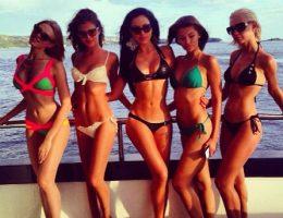 Despedida de soltera en Cancun, fiesta de despedida de soltero en yate de lujo cancun