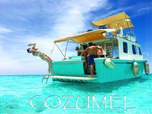 paseo en barco economico en cozumel