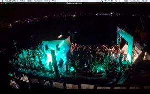 yate para eventos de noche cancun