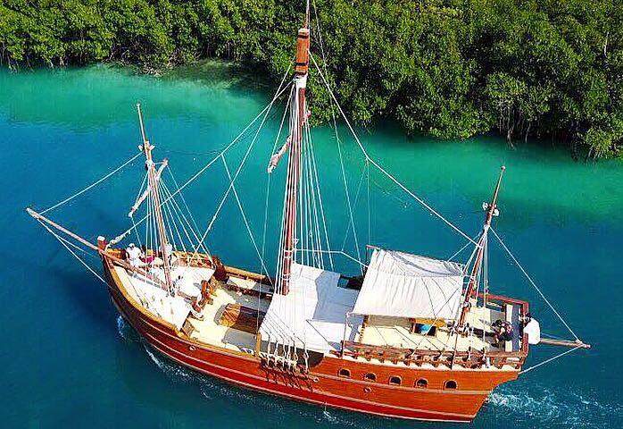barco para bodas en cancun