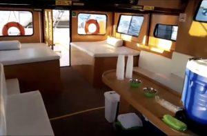 Renta de barco para grupos en Isla Blanca Cancun