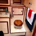 baño 2 barco para pernocta en La Paz