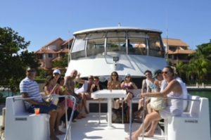 barco para grupos en playa del carmen marina