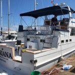 barco para pernocta en isla Espiritu Santo