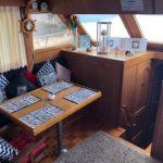 comedor 2 barco para pernocta en La Paz