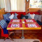 comedor de barco para pernocta en La Paz