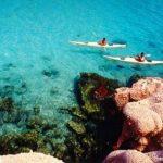 kayaks de barco para pernocta en La Paz