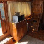 microondas en barco para pernocta en La Paz