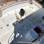 popa de barco para pernocta en La Paz