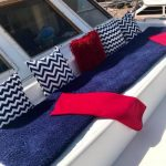 proa de barco para pernocta en La Paz