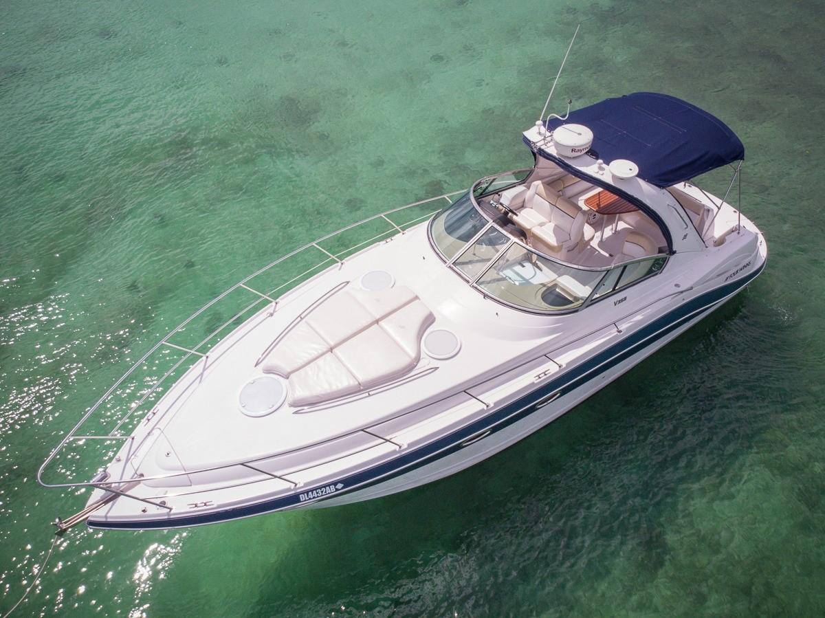 yacht-fourwinns-37-feet-Puerto-Aventuras