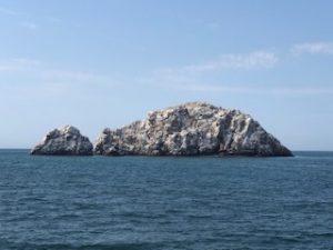 Isla Pajaros en Mazatlan en yate