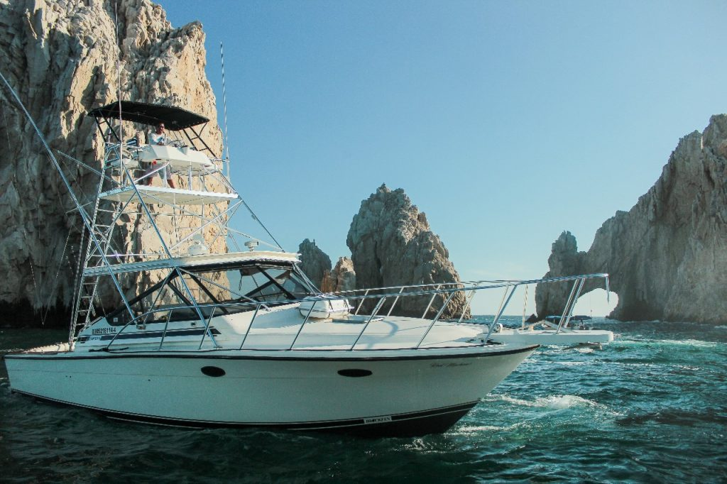 blackfin 39 ft fishing yacht charter in cabos
