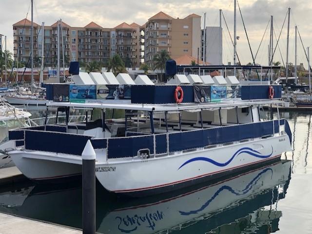 renta de barco para grupos grandes en Mazatlan