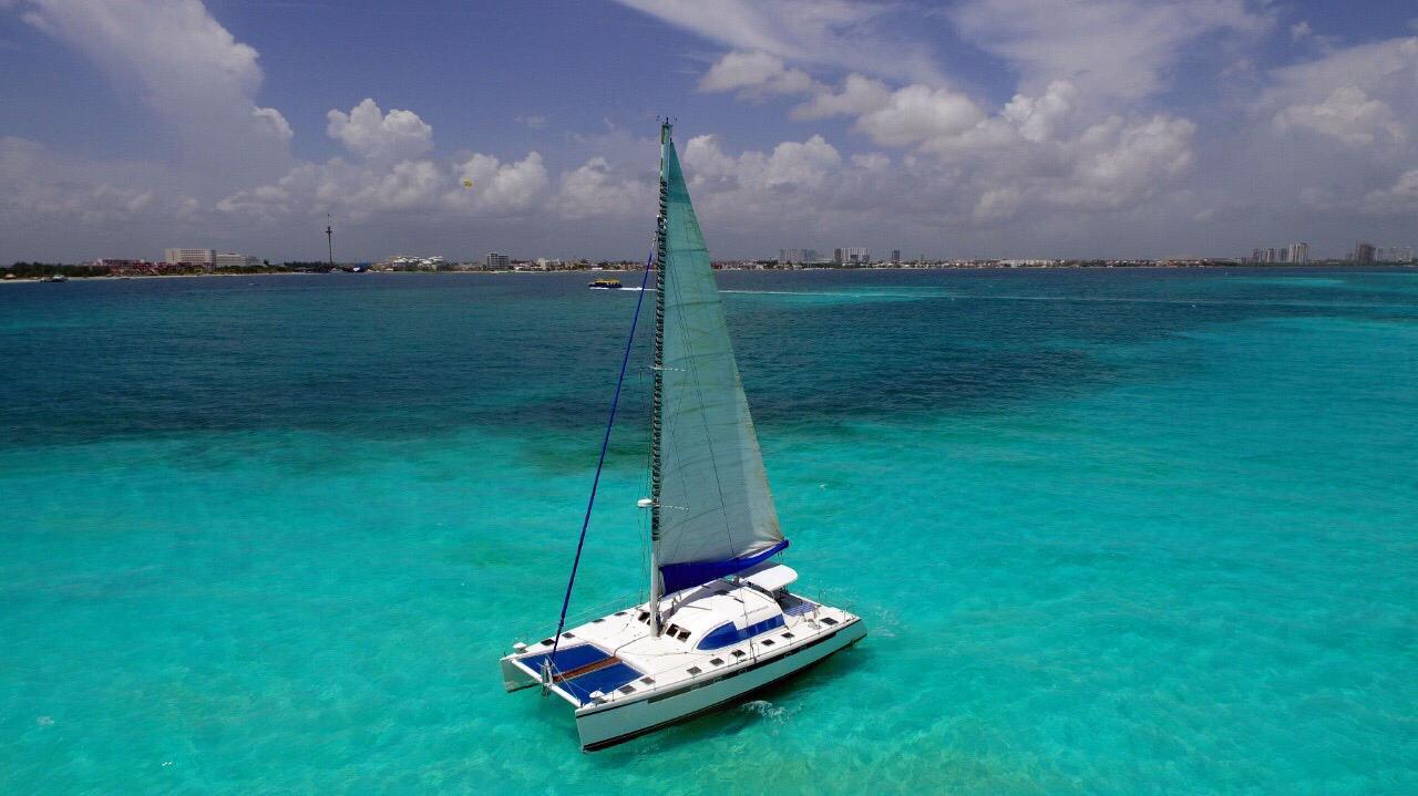 catamaranenrentacancun50pies