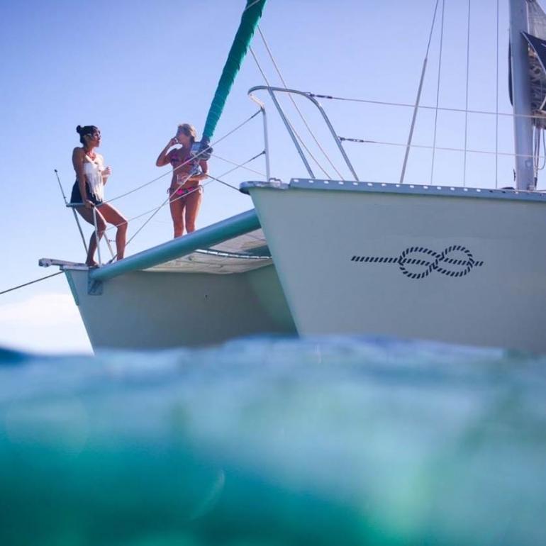 renta de catamaranes en Puerto Aventuras riviera maya